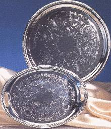 Silverplated Round Trays